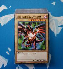 YuGiOh Joey Wheeler Complete Deck - Red Eyes Black Dragon, Jinzo - NO Duplicates