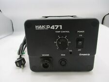 HAKKO 471-2 TEMPERATURE CONTROL DESOLDERING TOOL-STATION