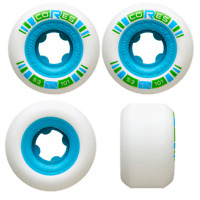 Ricta Skateboard Wheels 53mm Cores 101A Neon Blue