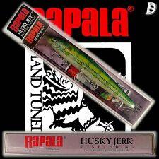 Vintage Rapala Saltwater Husky Jerk 12cm PF NEU&OVP Irland, sehr selten