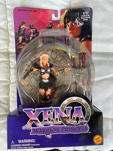 """Xena Warrior Princess Doll Callisto Spinning Attack Action 6"""" Figurine Toy Biz"""
