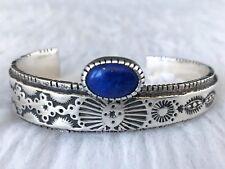 David Tune Cuff Bracelet w/ Blue Lapis