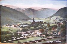 Irish Postcard VALE OF GLENDALOUGH Wickow Ireland W Lawrence Inland Germany