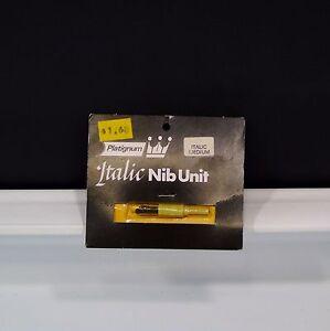Italic Nib Unit Platignum Medium New Old Stock