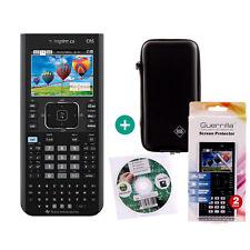 TI Nspire CX CAS Taschenrechner Grafikrechner + Schutztasche Schutzfolie Lern-CD
