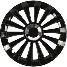 4x ALBRECHT Radkappen Radblenden MERIDIAN BLACK SCHWARZ 15 Zoll (4 Stück)