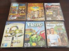 6 NEW Computer Game Lot PC still with original wrapping