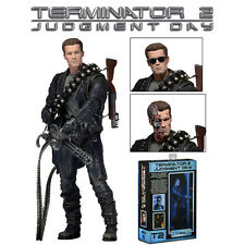 NECA Terminator 2 Judgement Day Ultimate T-800 Action Figure Deluxe Series Toy