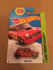 Hot Wheels Morris Mini Red
