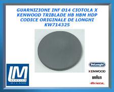 GUARNIZIONE INF Ø14 CIOTOLA X KENWOOD TRIBLADE HB HBM HDP KW714325 DE LONGHI OR