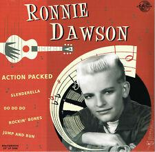 """ROCKABILLY LP: RONNIE DAWSON - Action Packed  MINIGROOVE RECORDS 10"""" VINYL LP"""