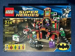 Lego DC Super Heroes 6857 The Dynamic Duo Funhouse Escape New in Box Sealed