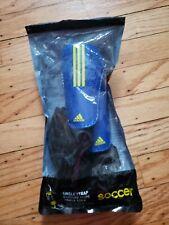 adidas Performance Pro Youth Shin Guard, Power Blue, Small Age 3-5 3'3-3'10