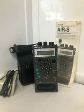 SONY PSB/ AIR/ FM/ AM Synthesized Receiver Model AIR-8 Airband Scanner Receiver