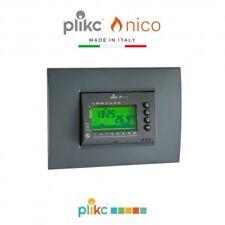 Cronotermostato digitale da incasso a batterie PLIKC NICO - PLK267602