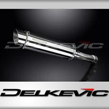 """Suzuki GSX-R750 SRAD SL10 14"""" Stainless Steel Round Muffler Exhaust 96 97 98 9"""