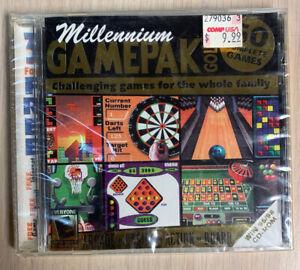 Millennium Gamepak Gold 50 Games ARCADE CASINO ACTION BOARD WIN95/98 CD-ROM