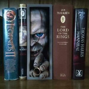 Peeping on The Bookshelf Bookends Realistic Creepy Monster Human Face Bookendsa