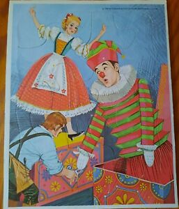 Vintage 1968 Whitman Chitty Chitty Bang Bang Puzzle Frame-Tray Complete