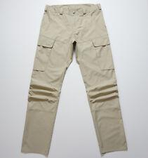 LUNDHAGS Bortnan Pant Mens Beige Hiking Trekking Cargo Trousers Size L, EU 54