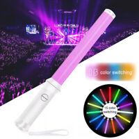 15 Light-Up Strobe Sticks Flashing Wand 3W 5050 LED Glow Blinking Rave Party EDC