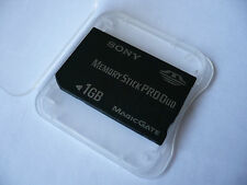 PRO DUO 1GB MEMORY STICK PRO DUO FOR SONY DSC-W55 G1 G3 H10 H20 H50 HX5V S200