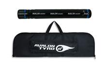 Black Avalon Archery A2 TYRO Takedown Recurve Bow Bag  & Arrow Tube Cannister