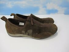 Merrell BARRADO Womens Sz 7 US Brown Suede Zip Up Athletic Shoes