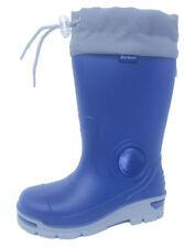 27 Scarpe blu in gomma per bambini dai 2 ai 16 anni