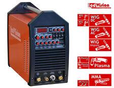5in1 Pro Multi 164 AC/DC Schweissgerät WIG TIG Puls + E-Hand + Plasma 160A IGBT