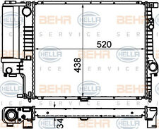 HELLA Wasserkühler Motorkühler BEHR HELLA 8MK 376 888-134 für BMW