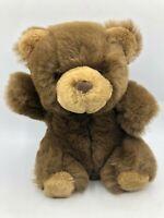 Vintage Lemonwood 1988 Brown Teddy Bear Small Plush Soft Stuffed Toy Animal Doll