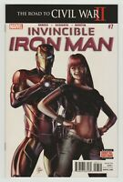 Invincible Iron Man #7 (Marvel 2016) 1st Riri Williams (Ironheart) - First Print