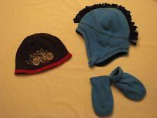 Baby Boy's Winter Hat & Mittens Lot  Boy's SZ 12 to 18 Months Gap