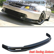 Mu-gen Style Front Bumper Lip (PP) Fits 98-02 Honda Accord 4dr