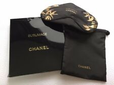Sublimage CHANEL Drawstring Bag / Pouch With Travel Eye Sleeping Cover