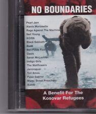 No Boundaries-A Benefit For The Kosovar Refugees  minidisc album