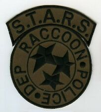 FANCY DRESS HALLOWEEN COSTUME OD PATCH: Resident Evil STARS Raccoon City Police
