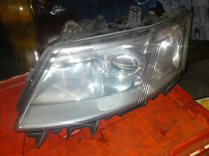 SAAB 9-3 2003-2007 passenger front halogen head lamp - genuine