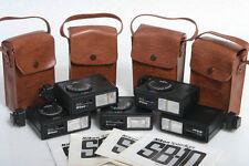 Cinq Nikon Speedlight SB-10 Flash Unités pour Nikon Film Caméras