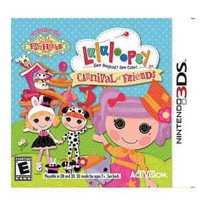 Lalaloopsy: Carnival of Friends (Nintendo 3DS, 2012)