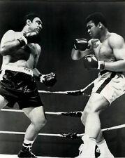 Ali vs Rocky Marciano,  8x10 B&W Photo