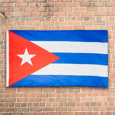 Hot Cuba Flag Cuban Flag Banner Bandera Cubana Indoor Outdoor America Flag