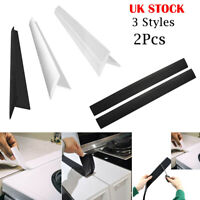 EE_ UK Kitchen Silicone Stove Counter Gap Cover Easy Clean Heat-resistant Slit F