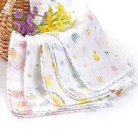 Baby Boy Girl Newborn Soft Bath Cotton Saliva Towel Burp Cloth Feeding Bandana