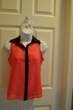 Blue Planet Women's Shirt  Size P/S Red in color women's Clothing