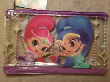 Shimmer And Shine Pencil Pouch Case 3 Ring Holder Bag School Party Favor Nicke N