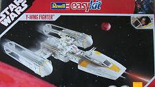 Revell easy kit 06660 Y-WING FIGHTER MIT FIGUR STAR WARS NEU