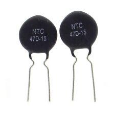 2x Thermistance NTC - 47D-15 - 47ohm - 3A - 7.5mm - RUILON - 15vari018