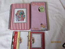 lot of Mary Engelbreit paper: x-mas post-its, notebook,pad